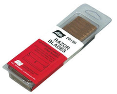 Razor Blades - single sided 100 pack:Lisle 52150