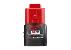 Milwaukee M12 - 1.5Ah Redlithium Battery: MLW48-11-2401