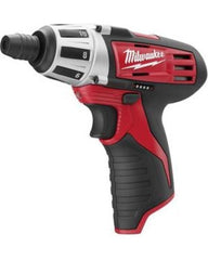 Milwaukee M12 Cordless 1/4'' Hex Screwdriver: MLW2401-20