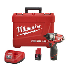 Milwaukee M12 Fuel Cordless 1/4'' Hex Screwdriver kit: MLW2402-22