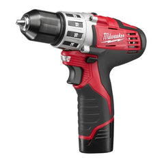 Milwaukee M12 Cordless Drill Driver Kit: MLW2410-22