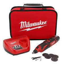 Milwaukee M12 Cordless Rotary Tool Kit: MLW2460-21
