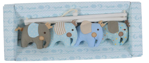 Tiger Tribe Softie Mobile - Elephant (Blue)