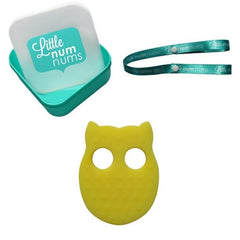 Little Num Nums Teether - Opal Own Yellow