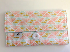 Elevacious Design Nappy Wallet - Spring Collection - Crystal Arrowheads