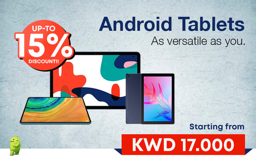 Get UPTO 15% Discount on Android Tablets at WIBI Online