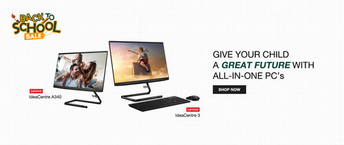 Buy Lenovo All-In-One PC's at Best Price from WIBI