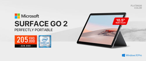 Get Microsoft Surface Go 2 at WIBI Online