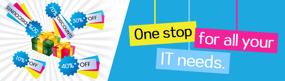 Deals and Offers on laptops, desktops and other IT products in Kuwait.