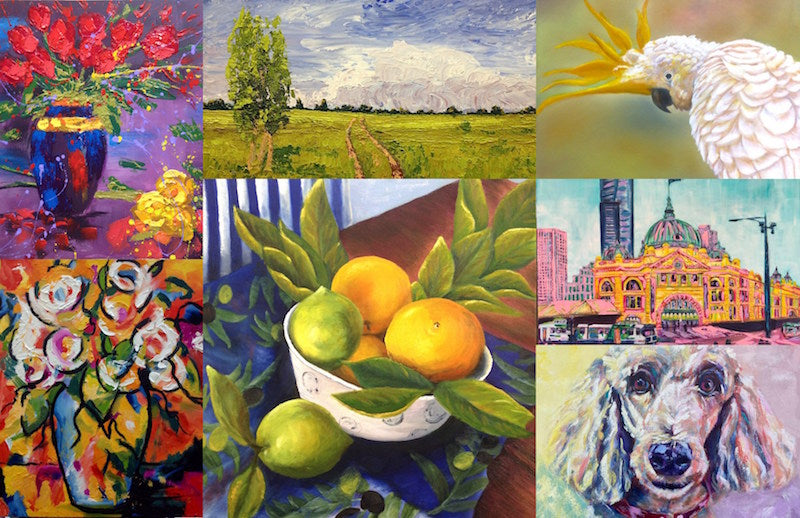 Brisbane Acrylic Painting Classes for Beginners