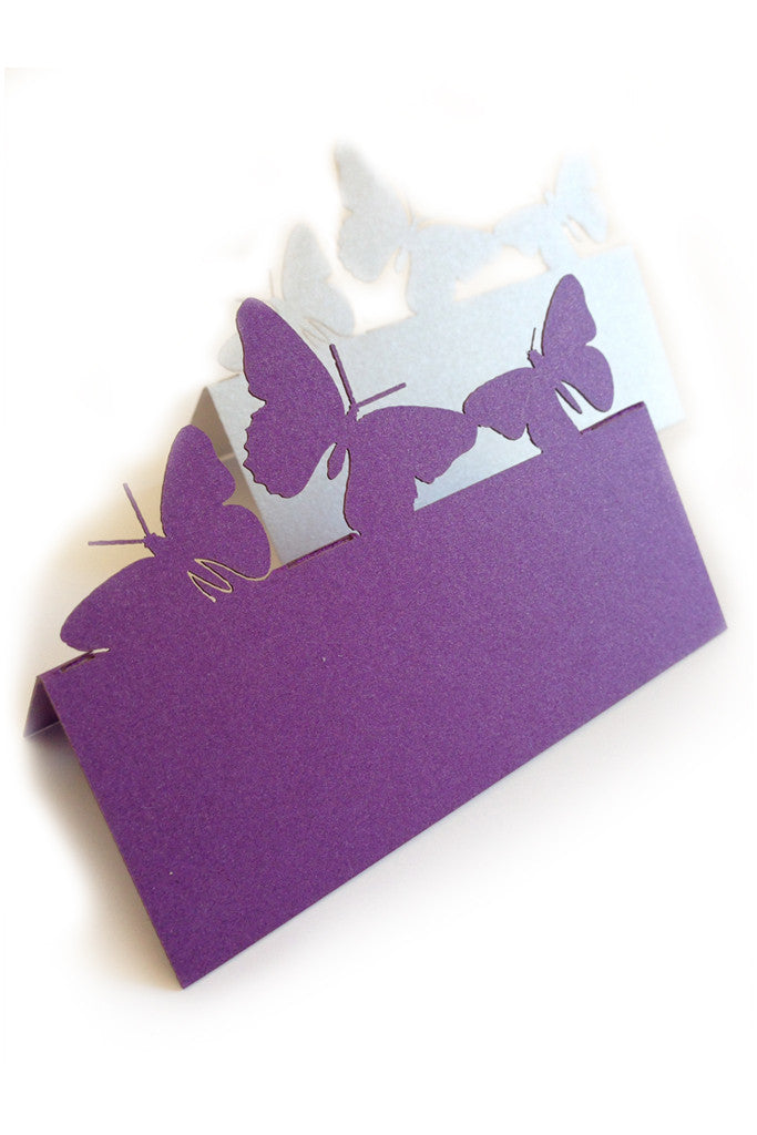 Butterfly Place Name Card