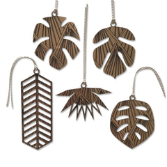 Botanical Baubels (set of 5)