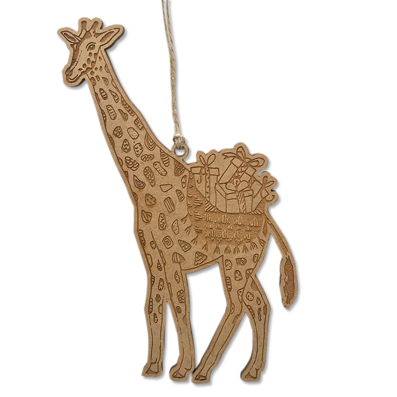 Christmas Safari Giraffe Bauble