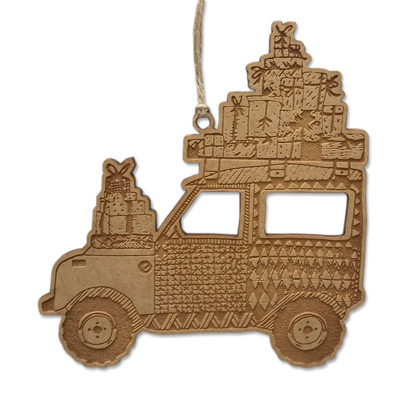 Christmas Safari Landy Bauble