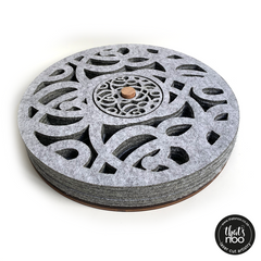 Felt Placemat & Coaster Combo - Set of 6