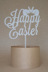 Happy Easter Cake Topper Large