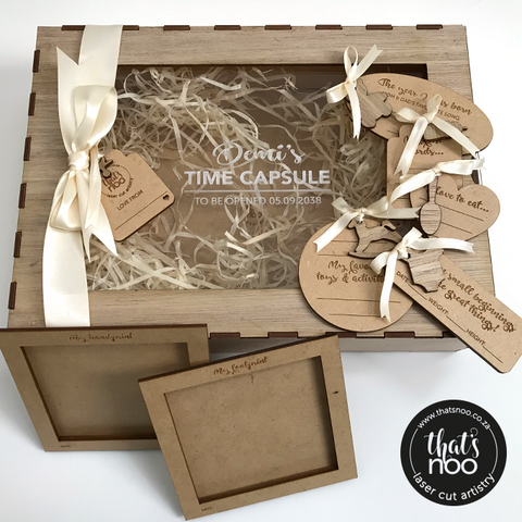 Baby Time Capsule Box