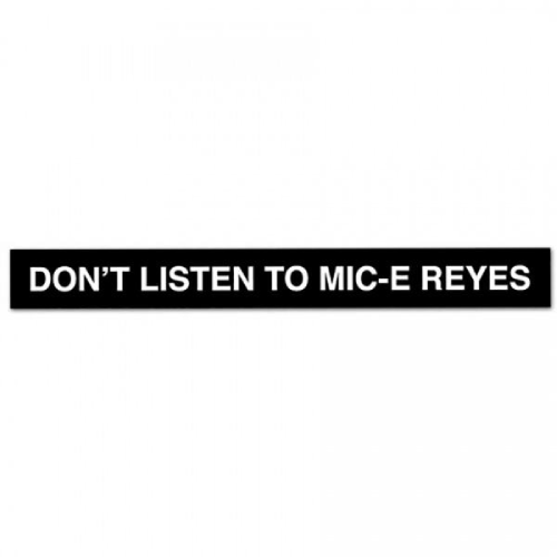 Real Don't listen To Mic Stick