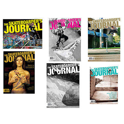 Skateboarders Journal Skateboard Magazine Multiple Issues Available