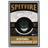 Spitfire Bighead Pin Fill Black/Green