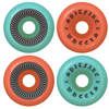 Spitfire OG Classic Wheels Blue/Red 54mm