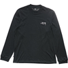 Stussy Design Long Sleeve Tee Solid Black