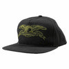 Antihero Basic Eagle Embroidery Hat Black
