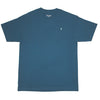 Sunday Embroidered Thunderbolt Logo T-Shirt Harbour Blue/Teal