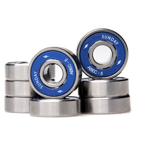 Sunday Hardware Co. Abec 5 Bearings