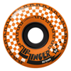 Krooked Zinger Wheels Orange 58mm