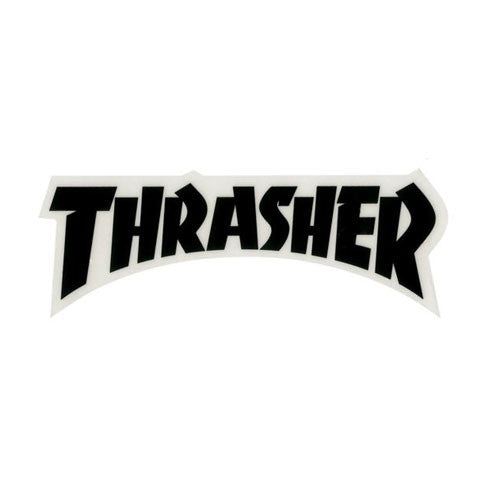 Thrasher Logo Die Cut Sticker