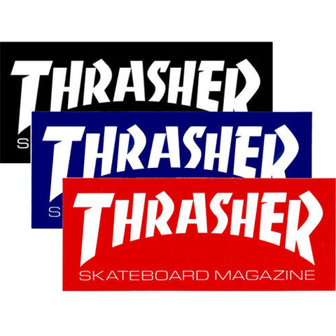 Thrasher Skate Mag Small Logo Sticker