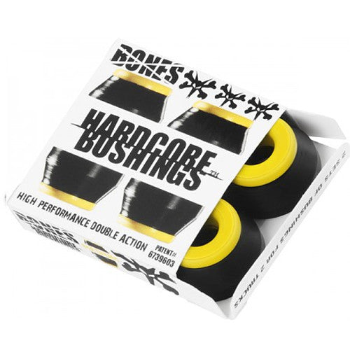 Bones Bushings Medium Black Skateboard Full Set