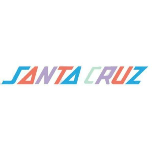 Santa Cruz Logo Mini Sticker