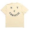 Chrystie NYC Smile Logo T-Shirt Sand