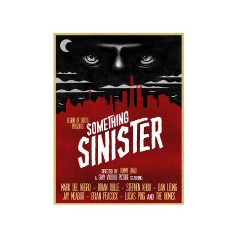 Something Sinister Skate DVD