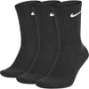 Nike Sb Everyday Cush Crew Socks 3 Pack Black
