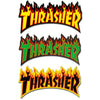 Thrasher Flame Logo Sticker La