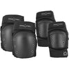Pro Tec Street Knee/Elbow Pad Set Black