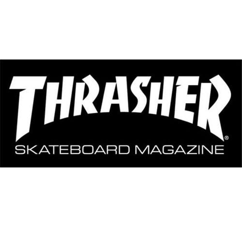 Thrasher Skate Mag Sticker Lar