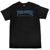 Thrasher Outlined Tee Black/Black