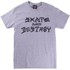 Thrasher Skate & Destroy Tee Grey