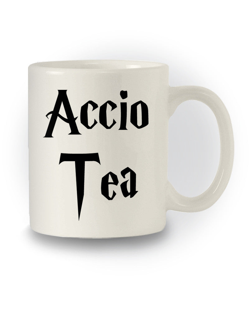 Harry Potter Inspired 'Accio Tea' Nerdy Mug