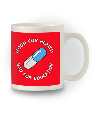 Manga Inspired 'Akira Pill - Good For Heath' Mug