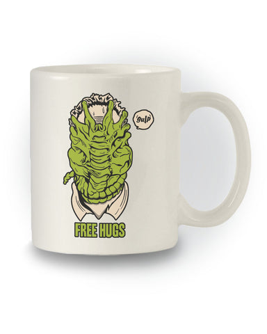 Alien Inspired 'Free Hugs' Horror Mug