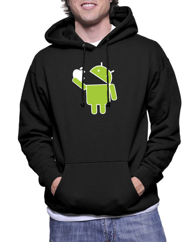 Android easts apple- Hoodie