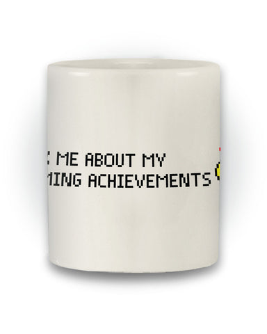 Retro Gaming 'Ask Me About My Gaming Achievements' Mug