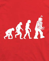 Big Bang Theory Robot Evolution