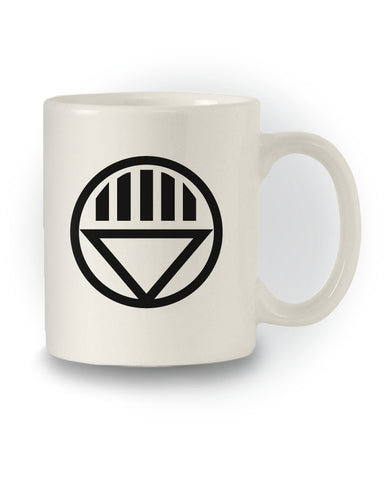 Comic Book Inspired 'Black Lantern' Corps Mug