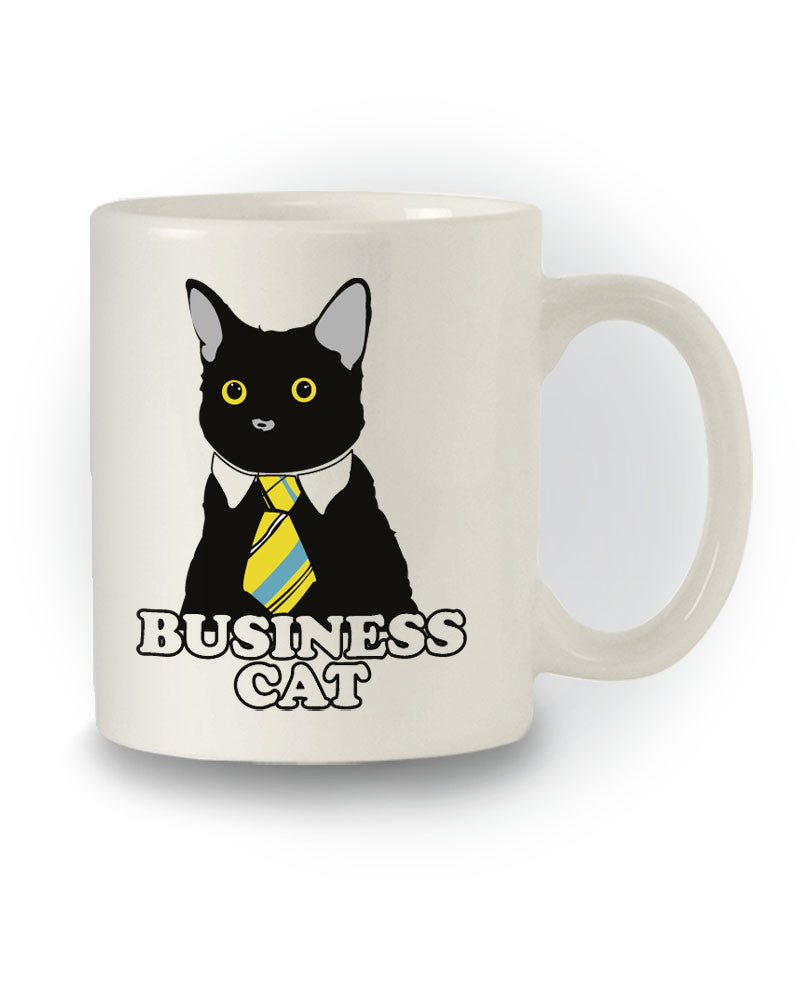Great Gift Meme 'Business Cat' Mug